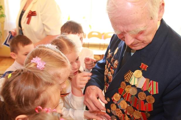 Посещение  ветерана Великой Отечественной войны Совенко Михаила Ивановича.