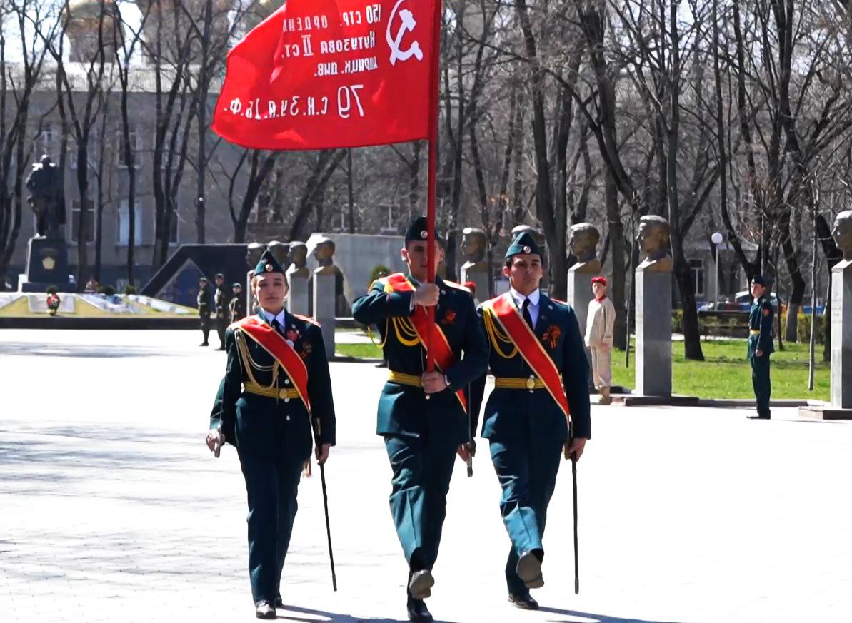 Эстафета «Встреча Знамени Победы»
