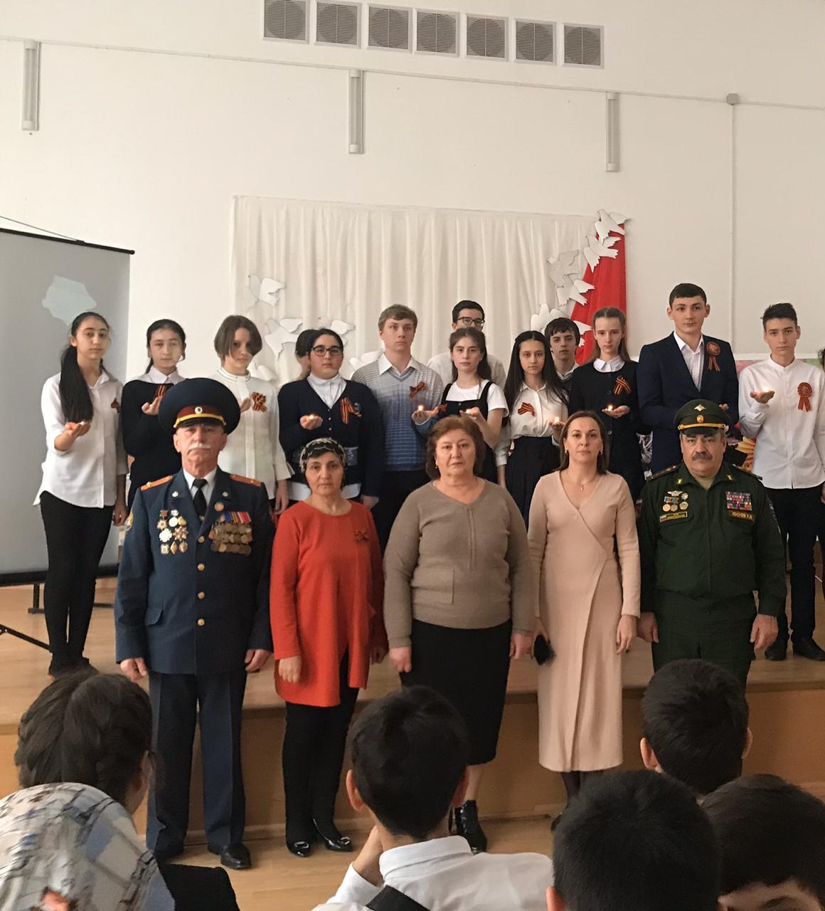 Открытое внеклассное мероприятие «День полного освобождения Ленинграда».