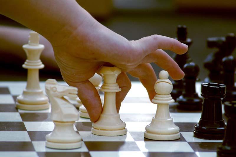 Кружок по шахматам .