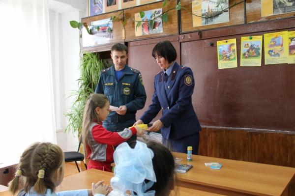Информация о проведении мероприятий в МКОУ «Гимназия № 13» работниками МЧС